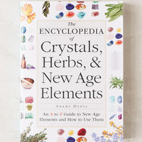 The Encyclopedia Of Crystals, Herbs, & New Age Elements By Adams Media | Urban Outfitters