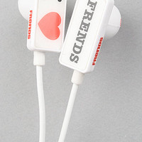 Frends Headphones Headphones I <3 Frends Ear Buds with Mic in White
