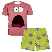 Patrick T-Shirt And Shorts Rave Outfit