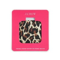 Printed backup battery for iPhone - AllProducts - sale - J.Crew