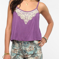 Pins And Needles Lace Trim Swing Cami