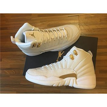 Air Jordan 12 Retro Aj 12 Ovo Men Women Basketball Shoes