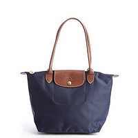 Longchamp Le Pliage Nylon Medium Shoulder Tote Handbag Purse
