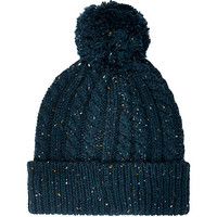 River Island MensTeal neppy cable knit beanie hat