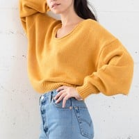 Candice Sweater - Mustard