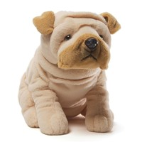 Wrinkles the Shar Pei Stuffed Animal by Gund