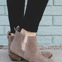 Hometown Booties - Taupe
