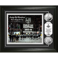Los Angeles Kings 2014 SC Champions Banner Raising Ceremony Gold Coin Photomint