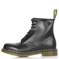 Dr. Martens Classic 8 Eyelet Boots - Black