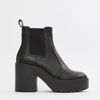 ASOS DESIGN Element chunky chelsea boots at asos.com