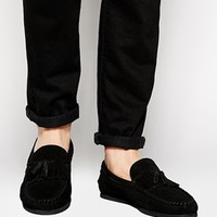 ASOS Tassel Loafers in Suede at asos.com