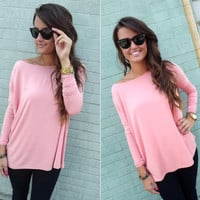 Plain Long-Sleeve Shirt