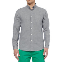 AMI - Slim-Fit Gingham Check Cotton Shirt | MR PORTER
