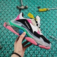 Balenciaga Triple S Clear Sole Women's Trainers Multicolor - Best Online Sale
