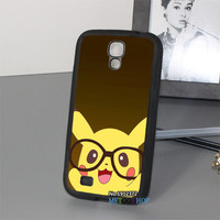 Pikachu pokemon 2 fashion original phone cell cover case for Samsung Galaxy s3 s4 s5 note 2 note 3 s7 s6 note 4 #J335