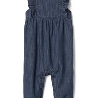 Denim flutter one-piece | Gap