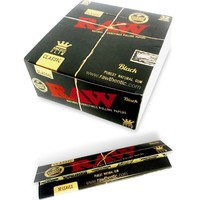 Raw King size Slim Classic Black (32 leaves/pack)