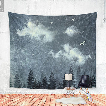 The Cloud Stealers Wall tapestry