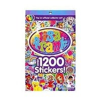 LISA FRANK Sticker Book ~ Over 1200 Stickers - 1st Official Collector's Set!