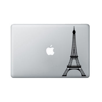 Eiffel Tower Laptop Decal