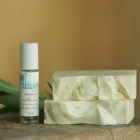 Vegan Earthsong Soap and Perfume Oil Gift Set Essential Oils