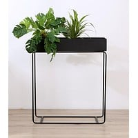 Modern Metal Rectangular Planter