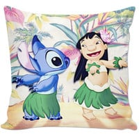 Cute Lilo And Stitch Pillow