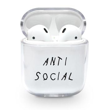 Anti Social Airpods Case