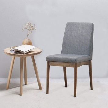 Eindride Mid-Century Modern Side Chair Set Of 2 By Casagear Home