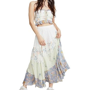 Free People - In the Flowers Two Piece Set - Floral
