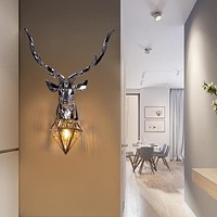 Modern Deer Style Bright Wall Lamp