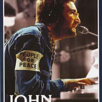 John Lennon People for Peace Portrait Poster 24x36