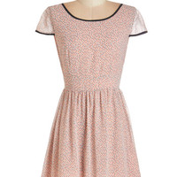 Cap Sleeves A-line Thrill Me Up Buttercup Dress