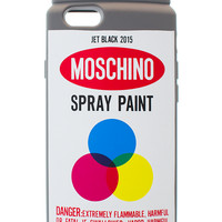 SPRAY PAINT IPHONE CASE | @Moschino | VFILES SHOP
