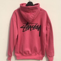 Stussy Women's Fashion Top Pullover Hoodie