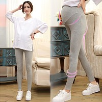 Spring Summer Maternity Pants for Pregnant Women Cotton Maternity Leggings Clothing Pregnant Women Pregnancy Trousers & Leggings