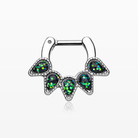 Opal Quinary Spear Septum Clicker