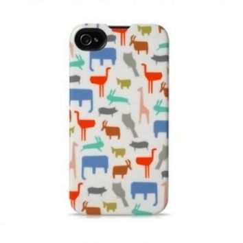 Agent18 Slimshield Limited - Zoo, for iPHONE 4/4S