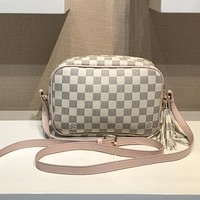 Louis Vuitton Fashion Leather Handbag Crossbody Shoulder Bag Satchel