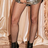 MIDNIGHT ESCAPE FISHNET LEGGINGS