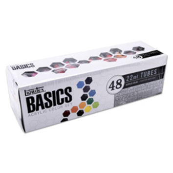 Basics Acrylic 48-pc Paint Set  | Overstock.com