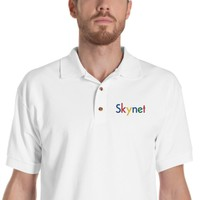 Skynet Embroidered Polo Shirt