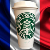 French This Might Be Wine - Now in French! - To-Go Coffee Travel Mug Starbucks Parody Great Teacher Gift by StarTangledArts