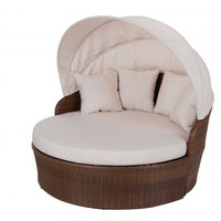 Key Biscayne Canopy Daybed with cushion