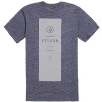Volcom Long Ball T-Shirt - Mens Tee - Blue