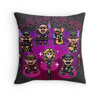 'Runaway 5 feat Venus' Throw Pillow by likelikes