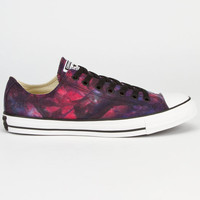 Converse Chuck Taylor Tie Dye Low Mens Shoes Red/Radio Blue  In Sizes