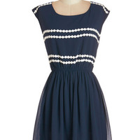 ModCloth Americana Mid-length Sleeveless A-line Ideal Days Dress