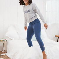 Aerie MOVE High Waisted 7/8 Legging, Navy