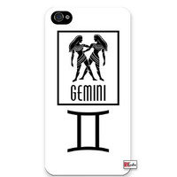 "Premium Direct Print Gemini Sign Zodiac Horoscope Symbol iphone 6 PLUS Quality Hard Snap On Case for iphone 6 PLUS/Apple iphone 6 PLUS 5.5"" - AT&T Sprint Verizon - White Case PLUS Bonus RCGRafix The Best Iphone Business Productivity Apps Review Guide"